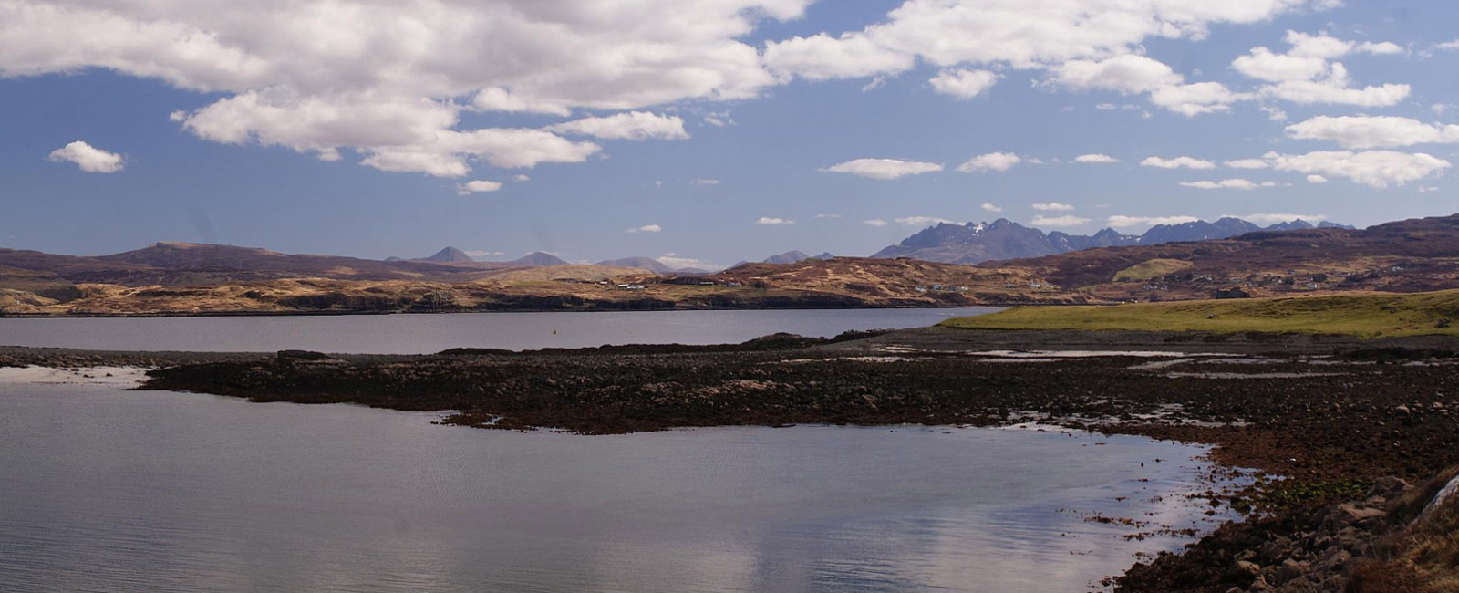 The Majestic Cuillin Mountains